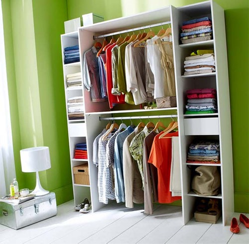 Comment amnager un dressing top charmant comment amenager for Dressing tout en un avec rideau