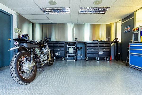 solutions pour bien aménager un garage