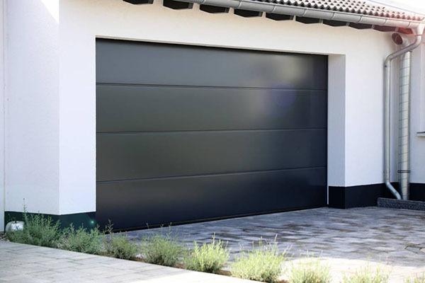 garage porte sectionnelle