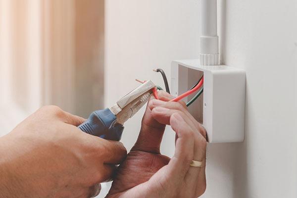 installation électrique dans une maison