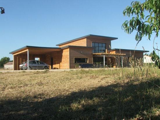 5 raisons de choisir le bois pour sa maison for Monter sa maison en bois