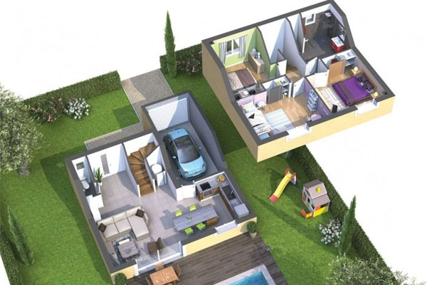 Maison prête à vivre