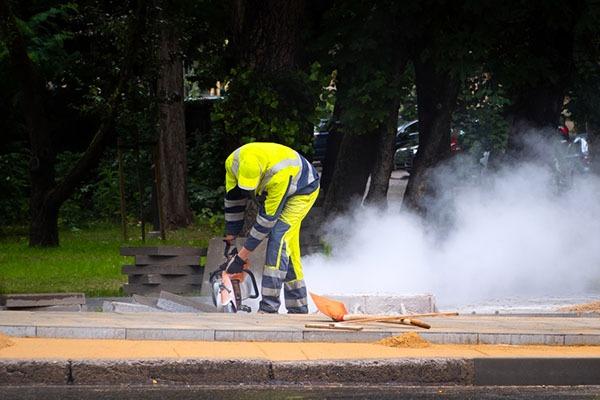 Protections pour chantier poussiéreux